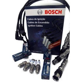 Kit Cables Bosch + Bujias Bosch Vw Gol Trend / Suran / Fox