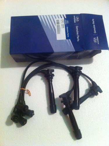 kit cables de bujias original hyundai elantra 1.6lts
