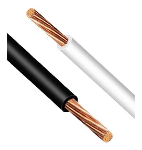 kit cables eléctricos cobre calibre 10 negro y blanco thw