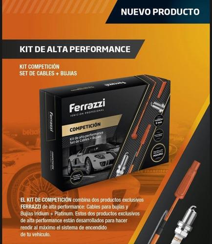 kit cables y bujias alta performance ferrazzi torino + bobin
