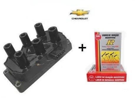 kit cabo de vela bobina ignição gm omega suprema 4.1