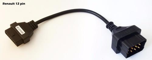 kit cabos adaptadores truck padrão obd2 16 pin linha pesada
