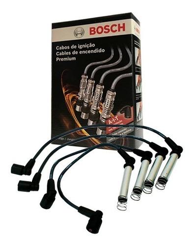 kit cabos e velas bosch gm astra vectra zafira gasolina 2.0 8 valvulas 2001 2002 2003 2004 2005 2006 2007 2008 2009 2010