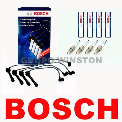 kit cabos e velas bosch honda civic 1.6 1995 até 2000