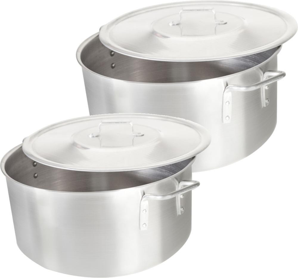 Kit Ca Arola Panela Grande Industrial Aluminio N45 N50 R 349 00