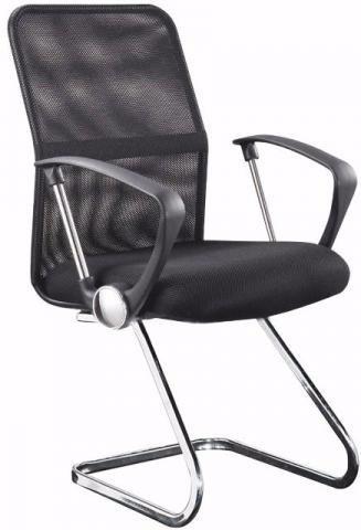 kit cadeiras de escritório telada mesch
