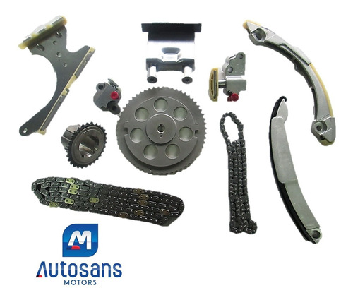 kit cadena de tiempo chevrolet colorado 3.7 trailblazer 4.2