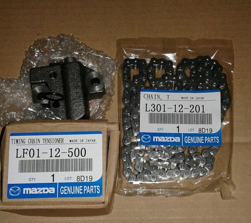 kit cadena de tiempo mazda 6    2.3l / ford ranyer 2.3