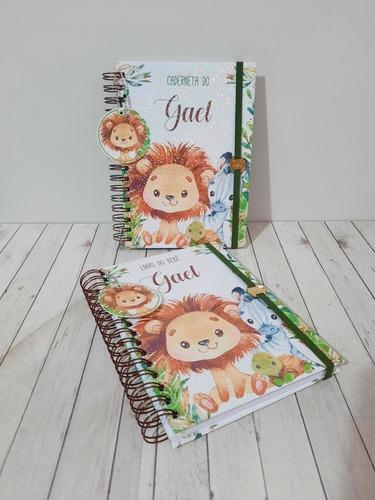 kit caderneta de vacinas mais livro do bebê tradicional