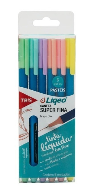 Kit Caderno Unicórnio + Borracha + Lápis + Apontador + Pens