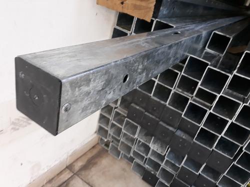 kit caixa de luz p/ 1 medidor + poste padrão eletropaulo