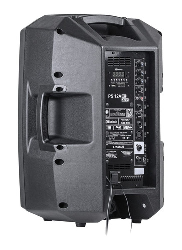 kit caixa som tripé frahm ps12a app+ps12p usb/bluetooth 400w