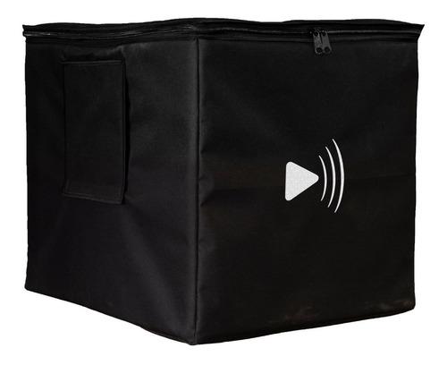 kit caixas som ativa jbl 1030 rms | sub 15 + torre 4x6 + bag