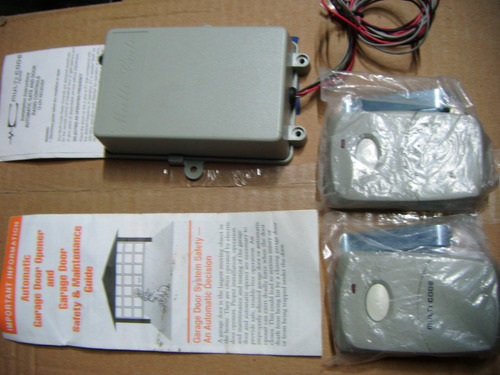 kit caja controladora para cortina electrica con 2 controles