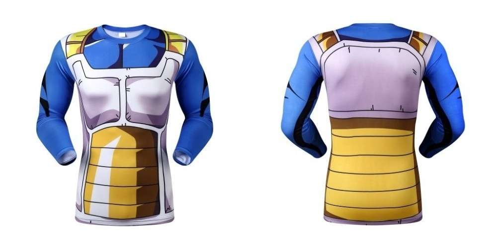 9ca8213c6c6b0 kit calça + camisa compressão legging dragon ball z vegeta. Carregando zoom.