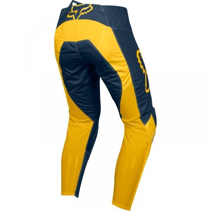 Kit Calça + Camisa Fox 180 Przm Navy Yellow - R  679 b6e147251e2