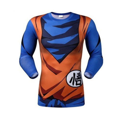 1251420e09f67 Kit Calça E Camisa Compressão Legging Dragon Ball Z Bjj Goku - R ...