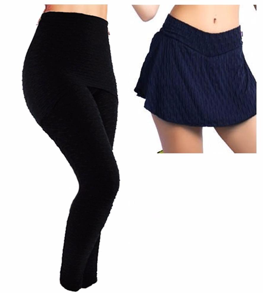 6beeb498b Calça Saia Tecido Bolha - NetStore - Fashion. Kit Calça Legging Com Saia  Suplex + Short Saia Bolha - R$ 170,66