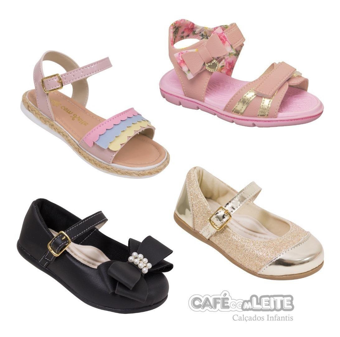 0b3aa2820 Kit Calçados Infantil Casual Feminino Menina (4 Pares) - R$ 156,90 ...