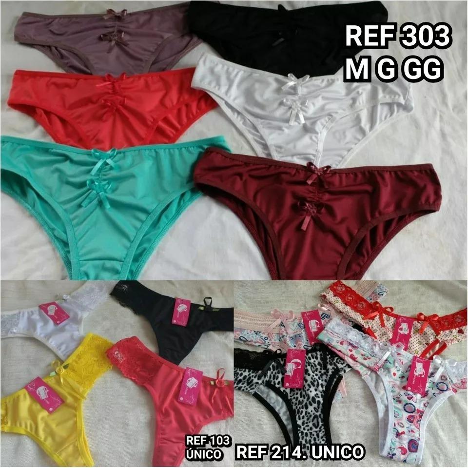 51e048c5eb832 kit calcinha tanga 100 un moda atacado revendedor lingerie. Carregando zoom.