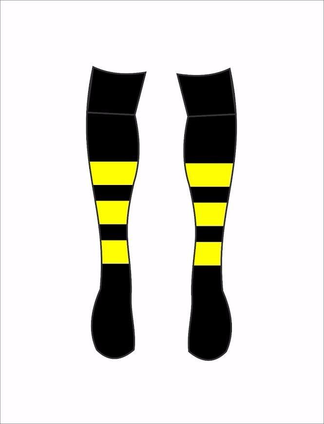 kit calção + meião preto amarelo futebol p - m - g - gg. Carregando zoom. 9fa81ad188062
