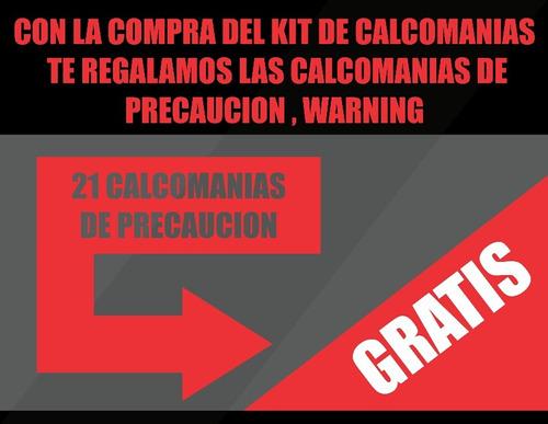 kit calcomanias bws yamaha 100 combo original 2007 ref b-14