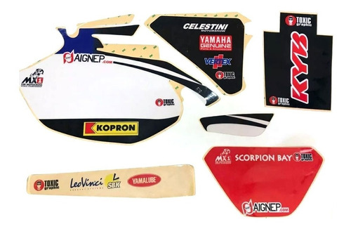 kit calcos graficos 3m toxic wrf 250 450 03/06 outlet