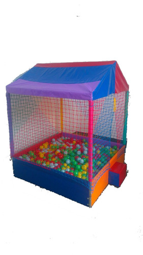 kit cama elástica 3,00m + escada + piscina de 1,5m + c/1500