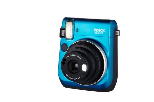kit cámara fujifilm instax mini 70 azul