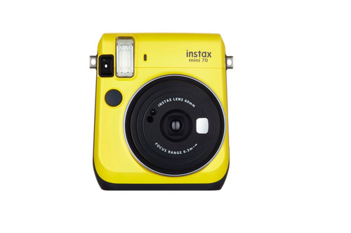kit cámara fujifilm instax mini 70 canary yellow
