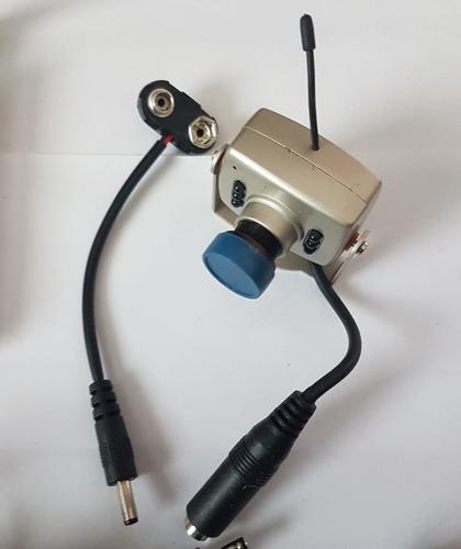 kit camara inalambrica2.4ghz  + receptor 4 canales 803g