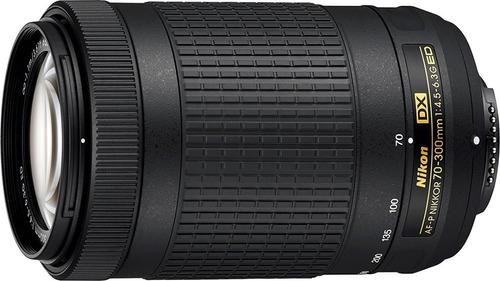 kit camara nikon d5600 dslr + lentes 18-55mm,70-300mm egrati