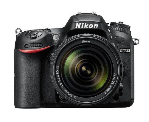 kit camara nikon d7200 dslr + lentes 18-55mm,70-300mm maleta