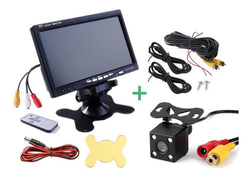 kit cámara retroceso  + monitor 7 lcd