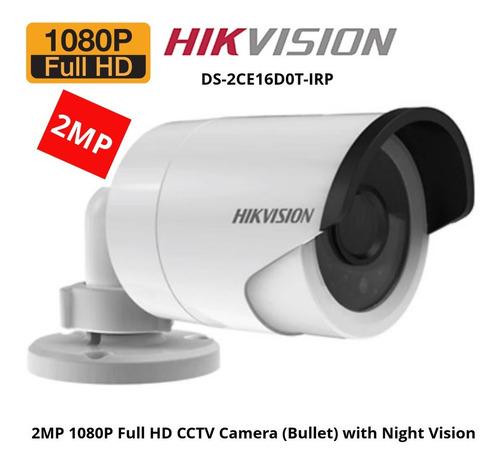 kit cámaras de seguridad cctv x8 hikvision turbo hd 1080p