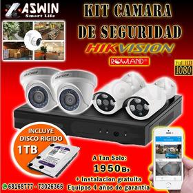Kit Camaras De Seguridad Hikvision