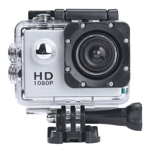 kit camera filmadora esportiva hd 1080p mergulho prova dágua