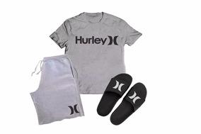 c32fbe9b35 Camiseta Hurley Tales Tube Kanui Produto Novo E Original no Mercado Livre  Brasil