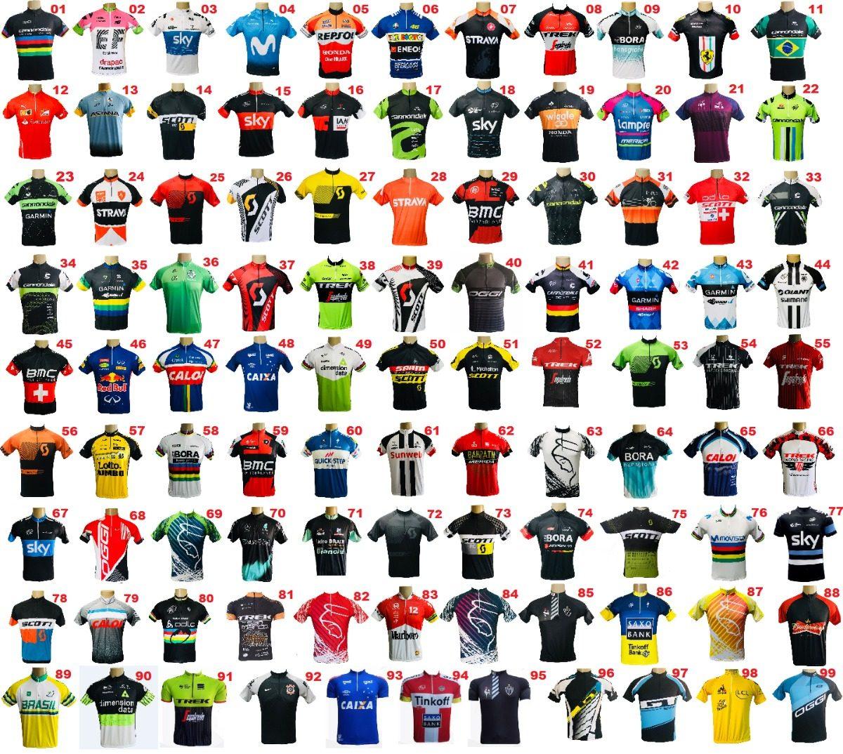 Kit Camisa De Ciclismo Mtb (2 Camisas + Frete Grátis + 12x) - R  139 ... eb940d828bcc4