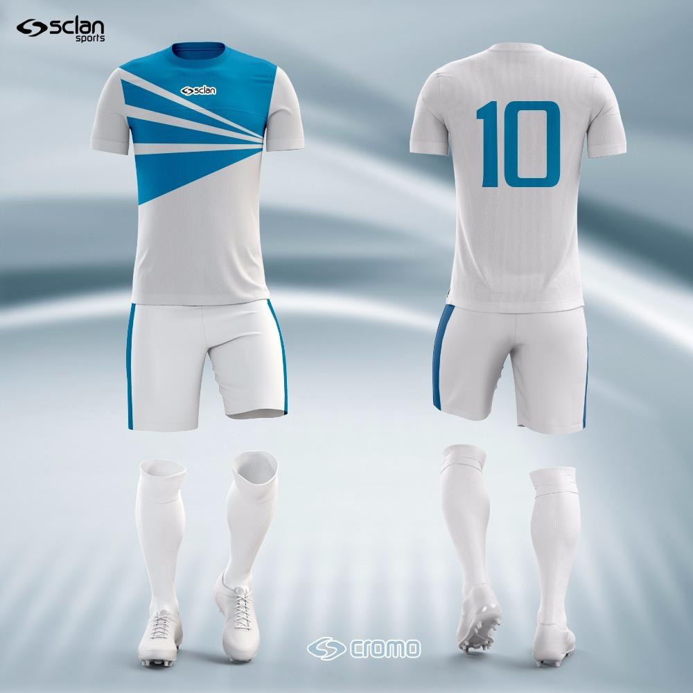 5bcc30be5 kit camisa e shot futebol personalizado série cromo - 10 un. Carregando zoom .