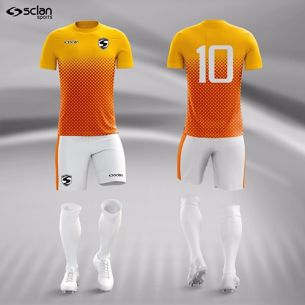 a59f875564 kit camisa short e meião futebol série ouro - 10 unid. Carregando zoom.
