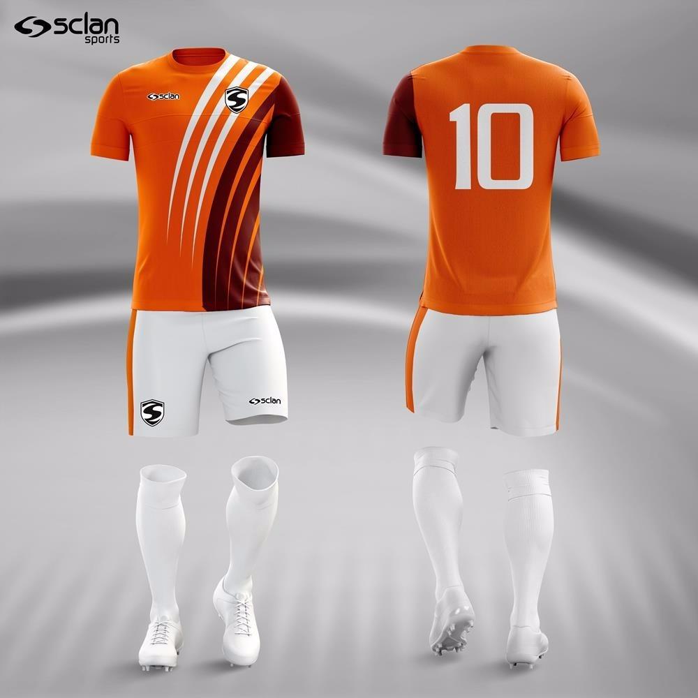 6bfd0c60c3 kit camisa short e meião futebol série premium - 10 unid. Carregando zoom.