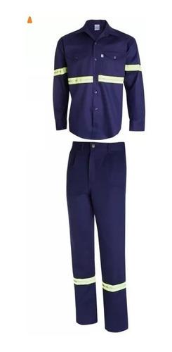 kit camisa/pantalon ombu con reflectivos cocido envío gratis
