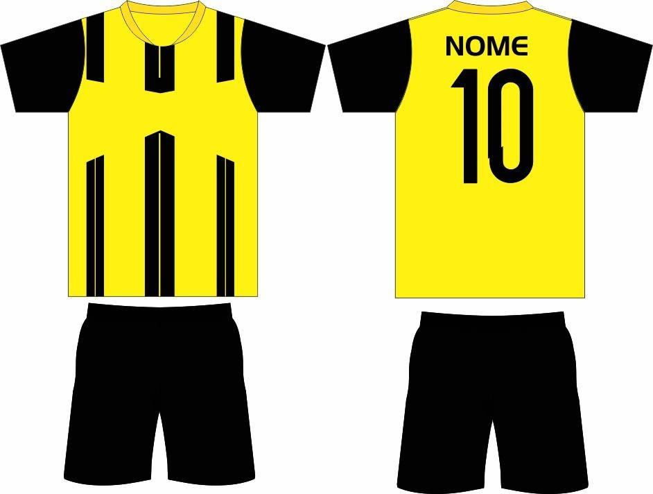 Kit Camisas Futebol 18 Camisas 18 Calções fb5adf91d8ee6