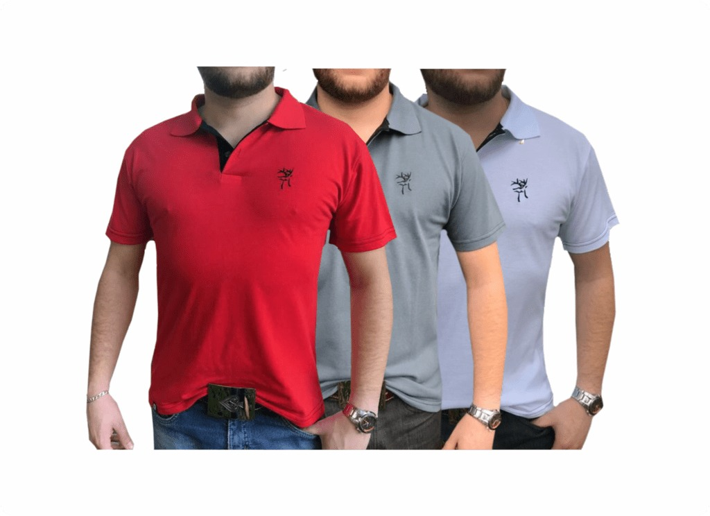 35cf18cfb5 Kit Camisas Polo Country Redbuck   Branca