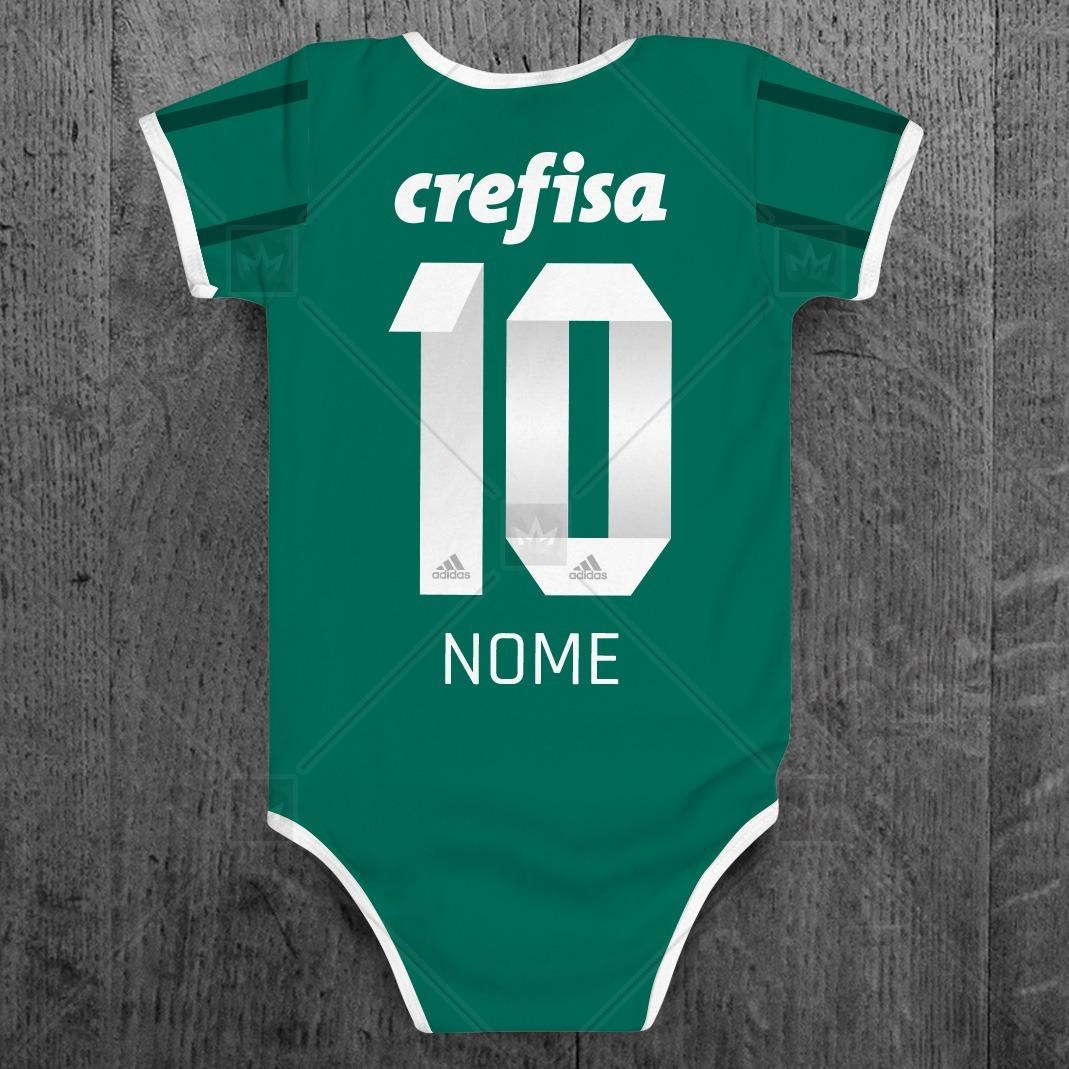 e4321f2766bbb kit camiseta + body infantil palmeiras personalizada c  nome. Carregando  zoom.