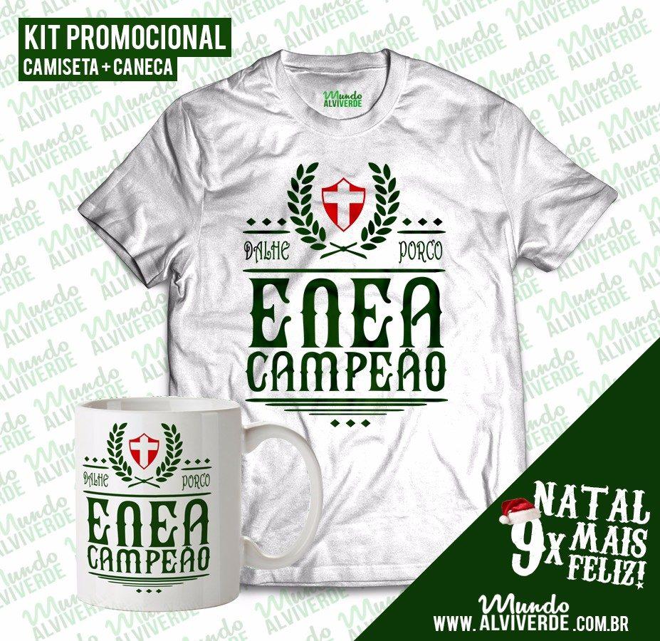 Kit Camiseta + Caneca Enea Dalhe Porco - Mundo Alviverde - R  68 19e8eb2f43d7c