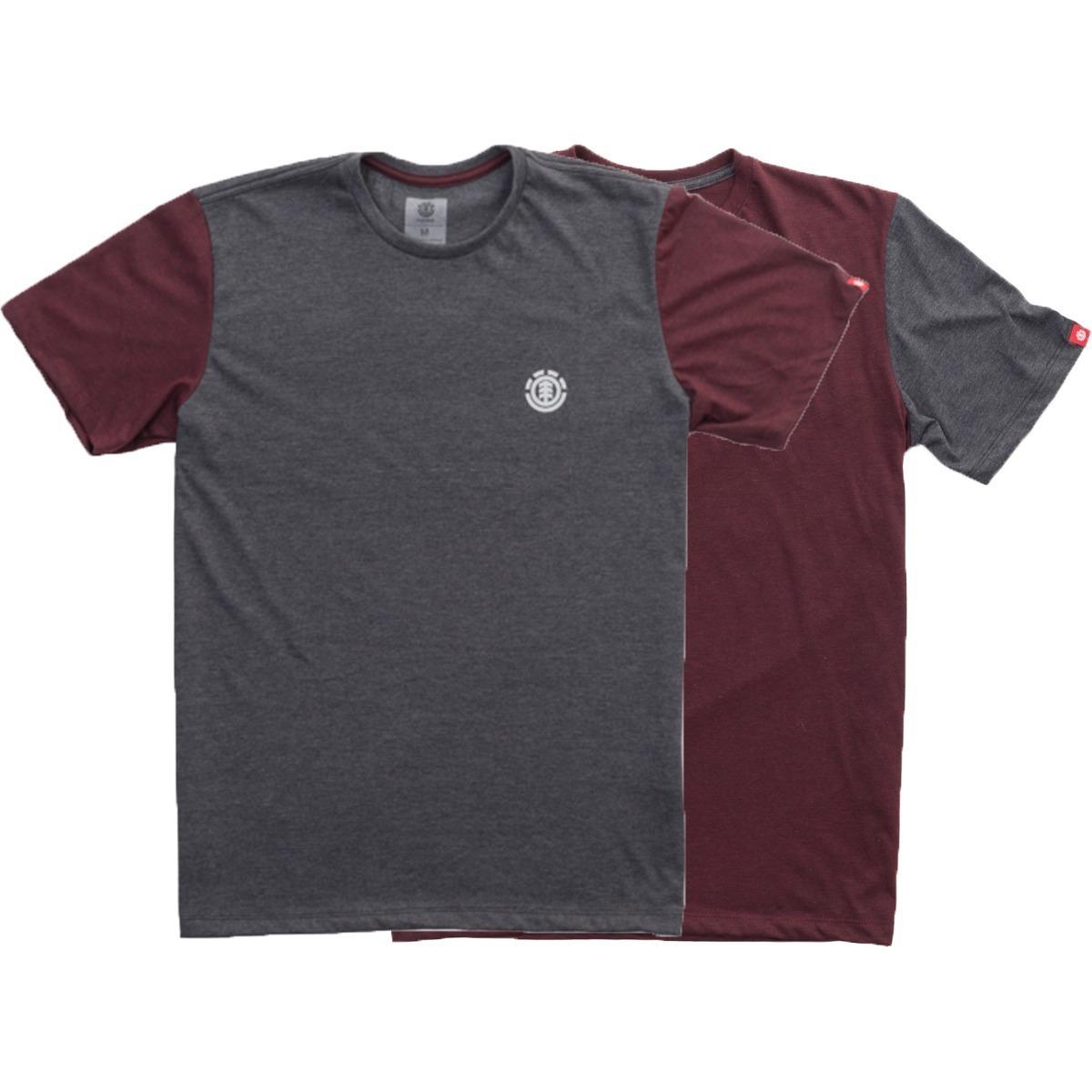 kit camiseta masculina element skate double manga curta. Carregando zoom. 47f4ee72d5e