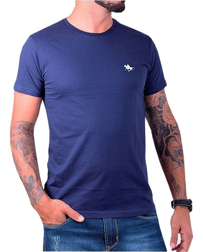 kit camiseta masculina lisa básica  original polo rg518
