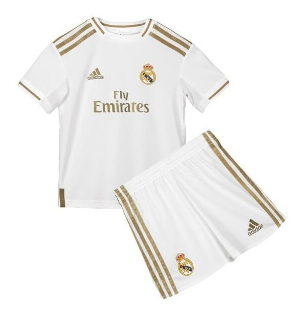 buy popular 915d2 38975 Kit Camiseta + Short Real Madrid Hazard 23 Edicion Jordan Nene Niño  Original Oferta